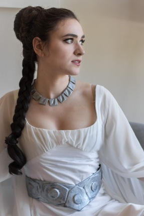Kate as Leia