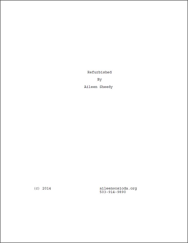 Refurbished title page