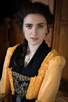 Kate in Hufflepuff